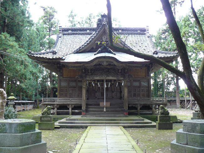 藤基神社(村上市)